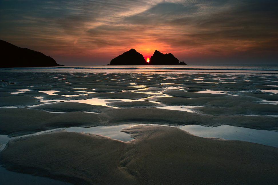 Holywell afterglow